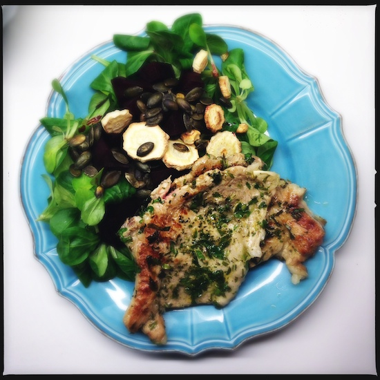 Herbed Veal Chops Recipes — Dishmaps